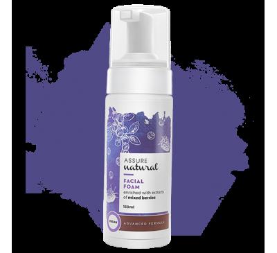 Assure Natural Facial Foam