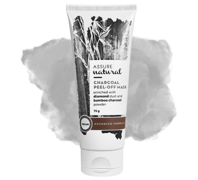 Assure Natural Charcoal Peel-Off Mask