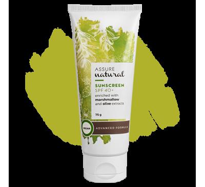 Assure Natural Sunscreen SPF 40+