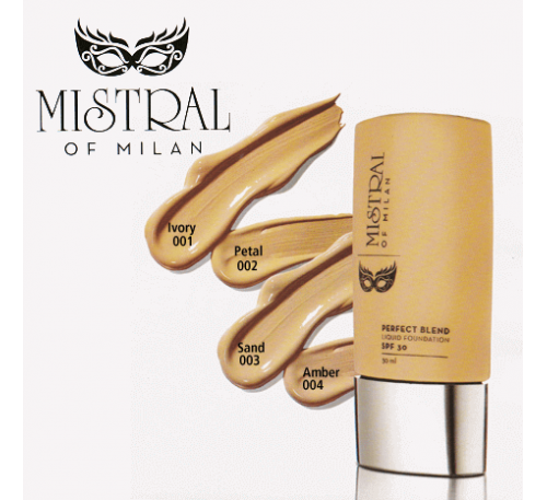 Vestige Mistral of Milan Perfect Blend Liquid Foundation